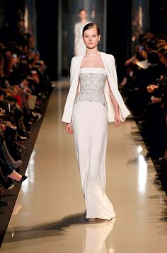 ELIE SAAB Haute Couture Spring Summer 2013 - Jac always looks amazing in E S