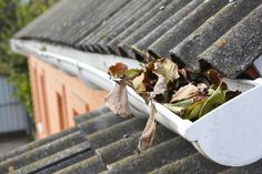 Where Gutter DIY Goes Wrong: You're a proud handyperson. Your gutter installation is going to go well, or so you… #gutterinstallation