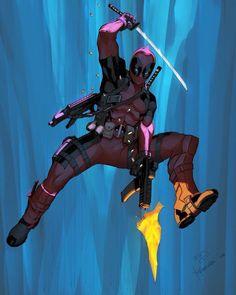 Deadpool by Max Dunbar & Yin Faowei