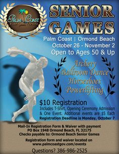 The Senior Games in Palm Coast.