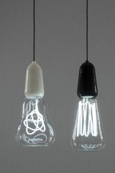 moderne pendelleuchten led pendellampen glühbirnen formen