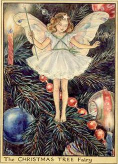 The Christmas Tree Fairy photo: Cicely Mary Baker's Christmas Tree fairy This photo was uploaded by Fairy_Columbine