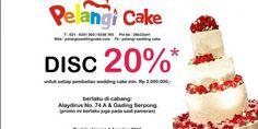 Diskon 20% di Pelangi Cake, Promo Berlaku Hingga 1 Agustus 2015 | Tempatnya Promosi dan Diskon