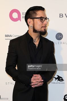 Dave Navarro attends the 24th Annual Elton John AIDS Foundation's Oscar Viewing Party on February 28, 2016 in West Hollywood, California.