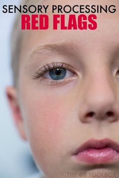 These sensory processing red flags can help kids identify sensory needs.