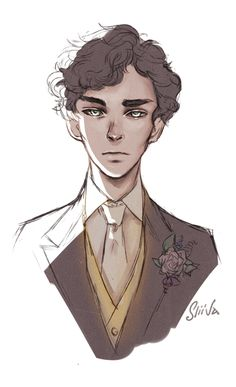 """urumiya: """" never mind, I'll find someone like you my heart just could not contain all the BBC Sherlock feels (Sherlock's beauty and sadness), so this happened. """""""
