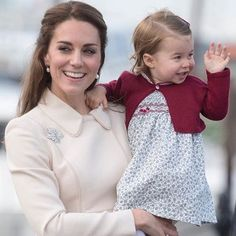 Kate and Charlotte say goodbye to Canada - Oct. 2016.                                                                                                                                                                                 More