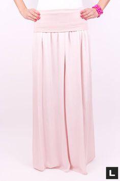 Moderná maxi sukňa
