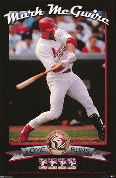 Mark McGwire 62 Home Runs