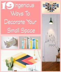 19 DIY Ideas To Decorate Your Home | http://diyhomeideaz.com/19-diy-ideas-to-decorate-your-home/
