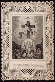 Pelican Holy Card