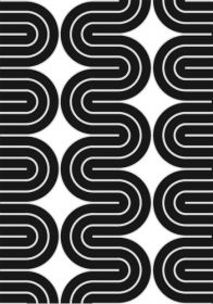 lotta kuhlhorn | b/w concentric pattern