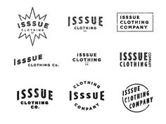 Isssue Mini Logos by Russell Pritchard
