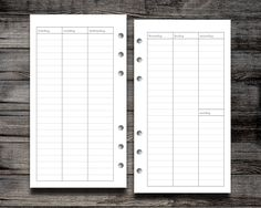 FREEBIE: LINED VERTICAL WO2P | Peanuts Planner Co