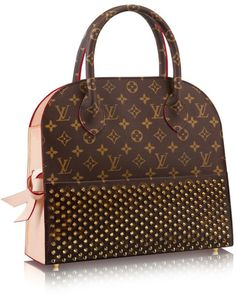 Louis Vuitton Handbag SS-2015 #SpecialEdition #ChristianLouboutinDesigner www.louisvuitton.com