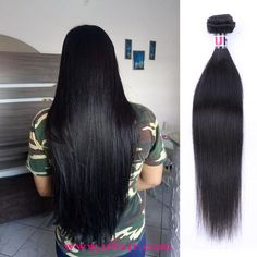 Malaysia Virgin Hair Straight Human Hair Weave 3 Bundles With Malaysia Straight Hair Lace Closure Uhair Products Real Human Hair Extensions, Remy Human Hair, Straight Weave Hairstyles, Virgin Hair Bundles, Lace Closure, Brazilian Hair, Wigs, Long Hair Styles, Hair Wigs