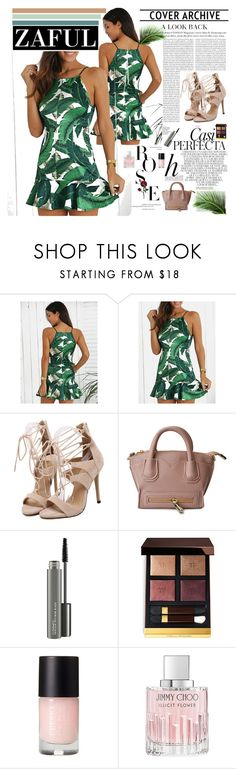 """""""ZAFUL 17/IV"""" by amra-softic ❤ liked on Polyvore featuring Whiteley, Oris, MAC Cosmetics, Tom Ford, Jimmy Choo and zaful"""