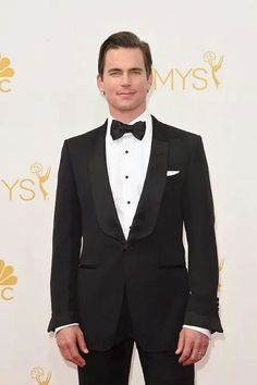 Matt Bomer Photos - Actor Matt Bomer attends the Annual Primetime Emmy Awards held at Nokia Theatre L. Live on August 2014 in Los Angeles, California. - Arrivals at the Annual Primetime Emmy Awards — Part 2 White Collar Quotes, Smoking, Male Model Names, Matt Bomer White Collar, James Bond Style, The Emmys, Celebrity Photography, Christian Grey, Most Beautiful Man