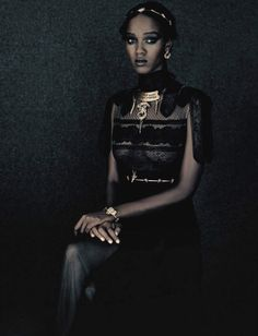 A Unique Style | Publication: Vogue Italia September 2015 Model: Leila Nda Photographer: Paolo Roversi
