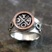Jupiter-Venus Talisman Silver Ring (*Sold Out!*)