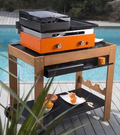 Orange barbecue