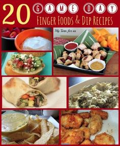 Simple and delish tailgate recipes!