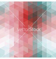 Geometric background vector - by cepera on VectorStock®