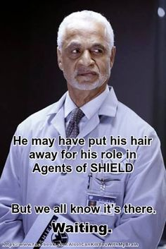 There is a Firefly veteran joining SHIELD's cast! Shepherd Book, AKA Ron Glass, ladies and gentlemen. Now I might have to watch this show. Maria Hill, Univers Marvel, Phil Coulson, Nick Fury, Stan Lee, Le Shield, Shield Cast, Ron Glass, Trauma