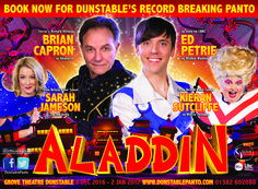 Win Tickets To Dunstable Panto Aladdin At Grove Theatre