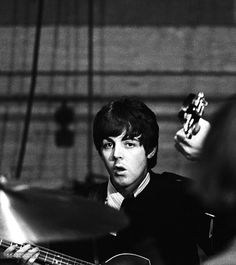 """dittymisslizzy: """" Paul McCartney at the Donmar Rehearsal Theatre in central London during rehearsals for the upcoming UK tour, 20 November 1965. [x] © Robert Whitaker """""""