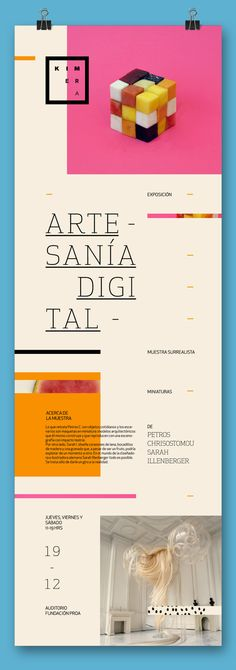 "K - Exposición ""Artesanía digital"" on Behance"