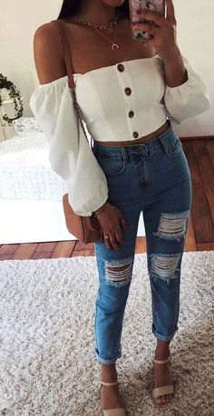 Trendy outfits for teens, summer fashion for teens, edgy outfits, tee Edgy Outfits, Mode Outfits, Winter Outfits, Fashion Outfits, Tumblr Summer Outfits, Cute Simple Outfits, Fashion Ideas, Casual Outfits Summer Teen, Cute Summer Clothes