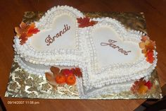 New Small Bridal Shower Cake Ideas Ideas Wedding Shower Cakes, Heart Shaped Cakes, Engagement Cakes, Beautiful Wedding Cakes, Wedding Cake Designs, Bridal Shower Decorations, Fondant Flowers, Cake Ideas, Cake Fondant