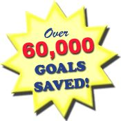 Well done over 60,000 goals saved on the www.themasterbucketlist.com