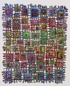 Susan Lenz fiber art