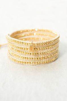 Valentine's Day Collection | Citrine Wrap Bracelet - Chan Luu
