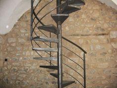 Mat riaux de r cup ration escalier colima on industriel - Escalier colimacon fer ...