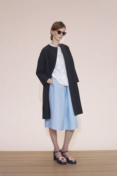 Flower Spot Jacquard Coat by @orlakiely from the spring/summer 15 collection exclusively on betosee.com HAVE A LOOK : http://www.betosee.com/collection/1270 #trends #womenswear #fashion # coat #ss15