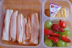 She has some really good ideas for healthy lunches. I'm going to try some of these next week.
