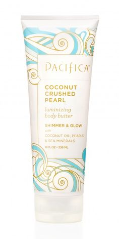 Pacifica Coconut Crushed Pearl Luminizing Body Butter 8oz | Pacifica Perfume... my next purchase from this company