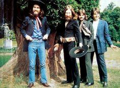 George, John, Ringo, Paul