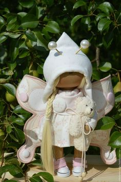 Купить или заказать Интерьерная текстильная кукла БАБОЧКА в интернет-магазине на Ярмарке Мастеров. Кукла полностью текстильная. Сама сидит и стоит. Одежда не снимается. Кукла может стать идеальным подарком для Ваших любимых.