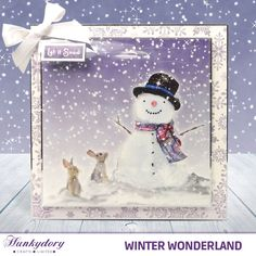 Winter Wonderland - Hunkydory | Hunkydory Crafts