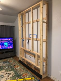 DIY Electric Fireplace Build - Build a fireplace DIY Electric Fireplace Build - Fireplace Tv Wall, Build A Fireplace, Fireplace Built Ins, Shiplap Fireplace, Fireplace Remodel, Fireplace Surrounds, Fireplace Design, Fireplace Makeovers, Stone Fireplaces