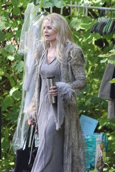 Jennifer Morrison on set (July 14, 2015)