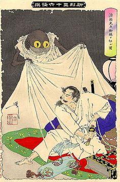 Yoshitoshi's ghosts