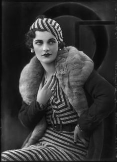 Margaret Campbell Duchess of Argyll by Bassano, 1932  National Portrait Gallery, London