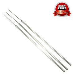 เข็มเขี่ยเนื้อเยื่อเห็ดแบบปลายแหลม (Needle) 1 ชุด 3 ชิ้น ราคาเพียง 57 บาท หรือ 19 บาท/ชิ้น เท่านั้น ด้ามจับยาว (7 3/4 นิ้ว)  ลดโอกาสเสี่ยงติดเชื้อ ทำจากวัสดุคุณภาพดี แข็งแรง คงทน ใช้ในการจิกตักเนื้อเยื่อเห็ดลงวุ้น PDA หรือตัดเนื้อวุ้น PDA ที่เส้นใยเห็ดเดินเต็มแล้วลงข้าวฟ่างเพื่อทำเชื้อขยายต่อไป    สอบถาม 081-555-1297  http://www.ifarm.co.th/index.php?option=com_virtuemart=productdetails_product_id=160_category_id=9=212