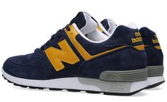 "New Balance 576 ""Navy & Yellow"" (Made in England) - EU Kicks: Sneaker Magazine"
