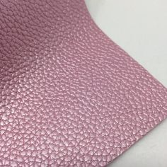 Metallic Pink Textured Faux Leather Faux Leather Fabric, Leather Texture, Pink Texture, Metallic Pink, Cotton Canvas, Craft Projects, Teen, Kids Rugs, Bows